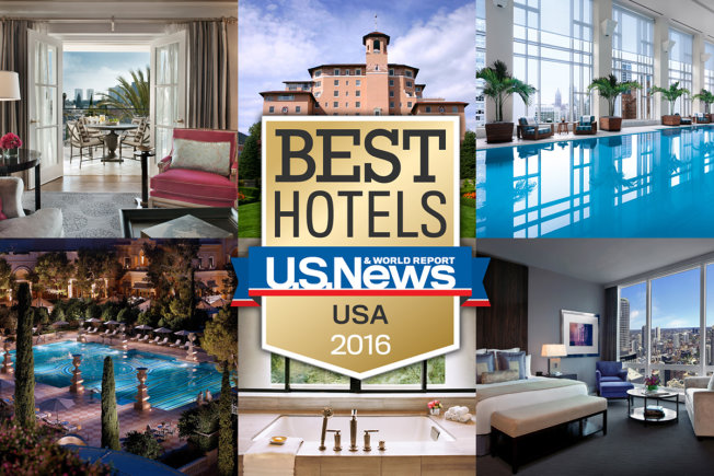25 best hotels usa