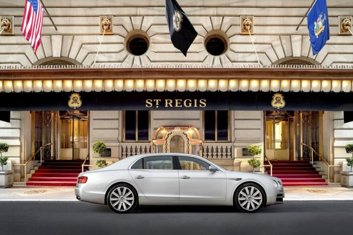 Rental Car at St Regis New York