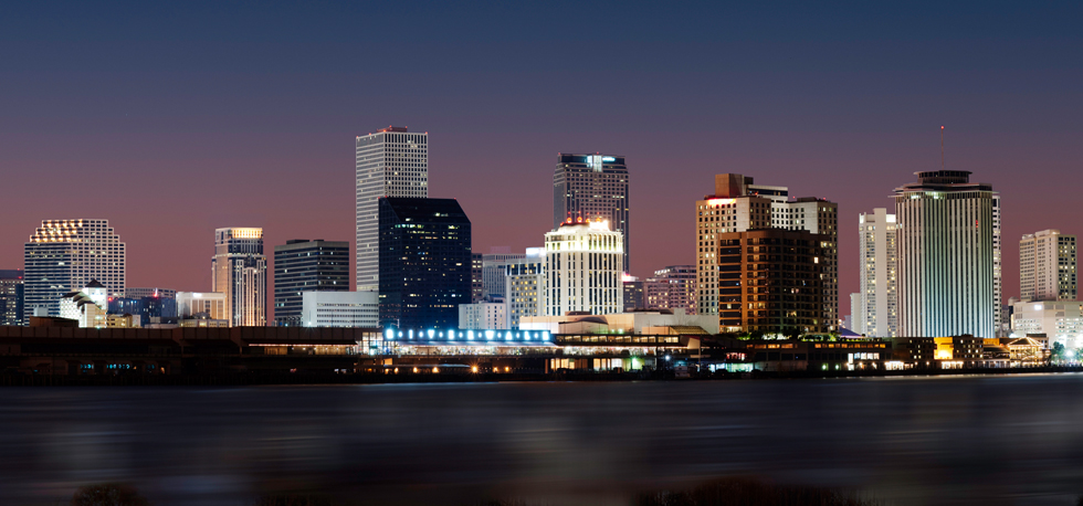 New Orleans Louisiana Skyline. Top 10 Hotels New Orleans Louisiana